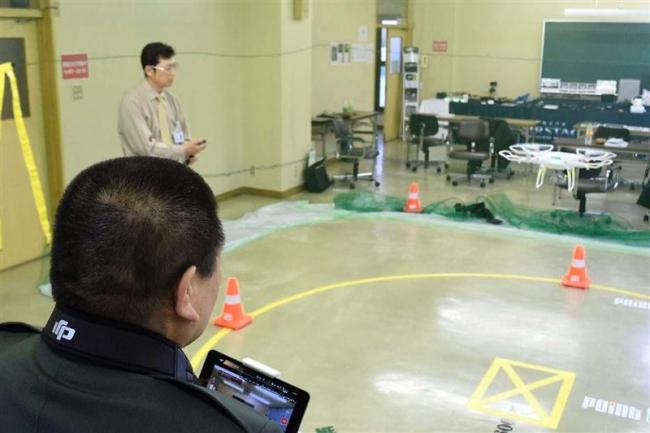第一自動車学校で自衛官にドローン教習 再就職を支援