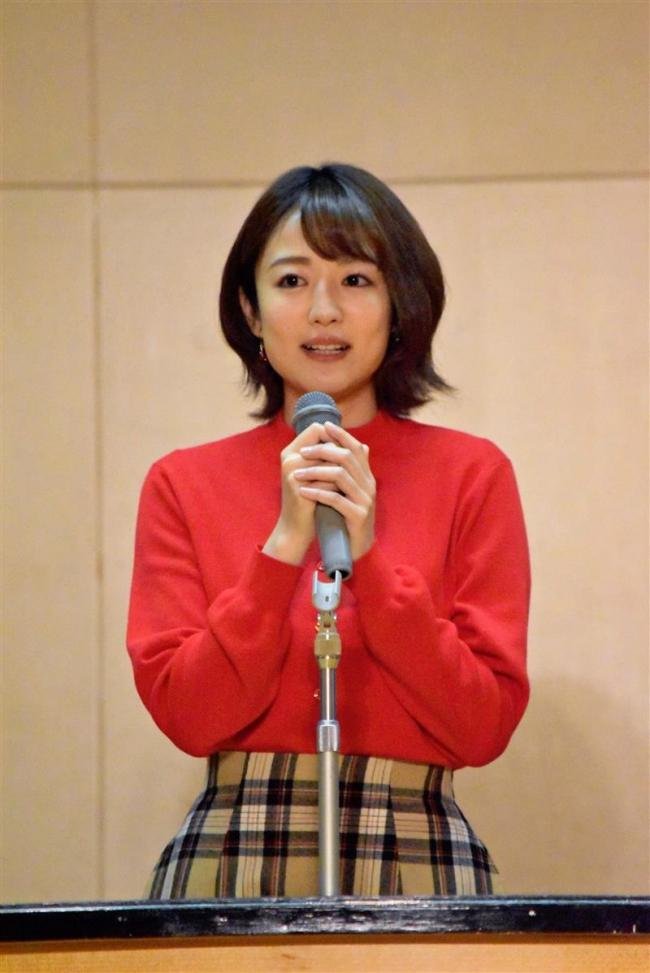 日テレ滝アナウンサーが「夢」語る 今年度閉校の昭和小で