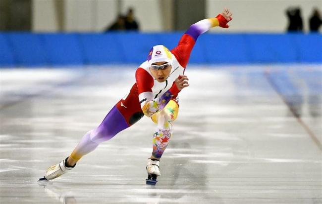 及川500メートル好タイムV 女子は山根制すスケートジャパンカップ第1戦