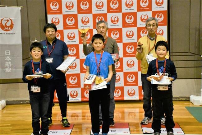 芽室小6年・嶋野君が小学生以下の部で優勝 JAL折り紙ヒコーキ全国大会帯広予選会