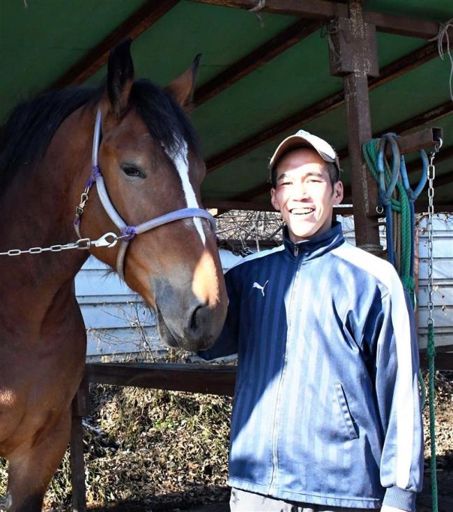 「38歳でも夢かなう」 ばんえい十勝・新人騎手は元漁師 兵庫出身の林さん