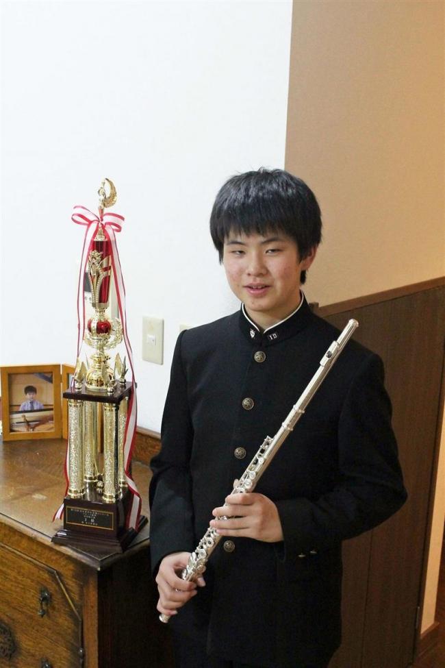 全日本学生音楽コンクール フルート部門で2人が全国へ