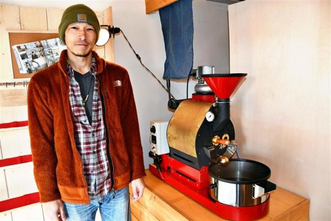 幸福駅でコーヒー焙煎を体験して カンナ・カンナが開催