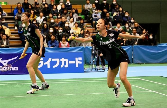 ナガマツ、岡村4強入り 全日本総合バドミントン選手権
