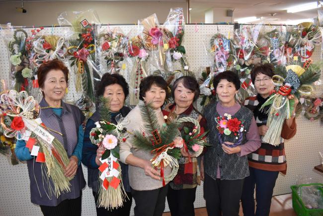 こだわりのしめ飾り 今年も道の駅で販売 更別・穂の花
