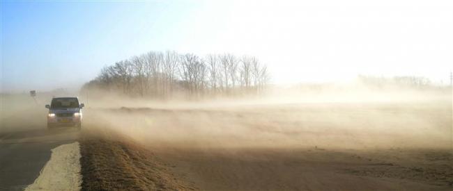 冬に初の「ちり煙霧」を観測 6日の十勝地方