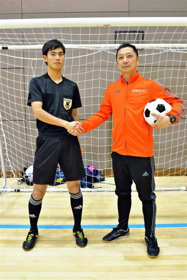 池田の宗像さんがJFA1級審判員に 全国最年少