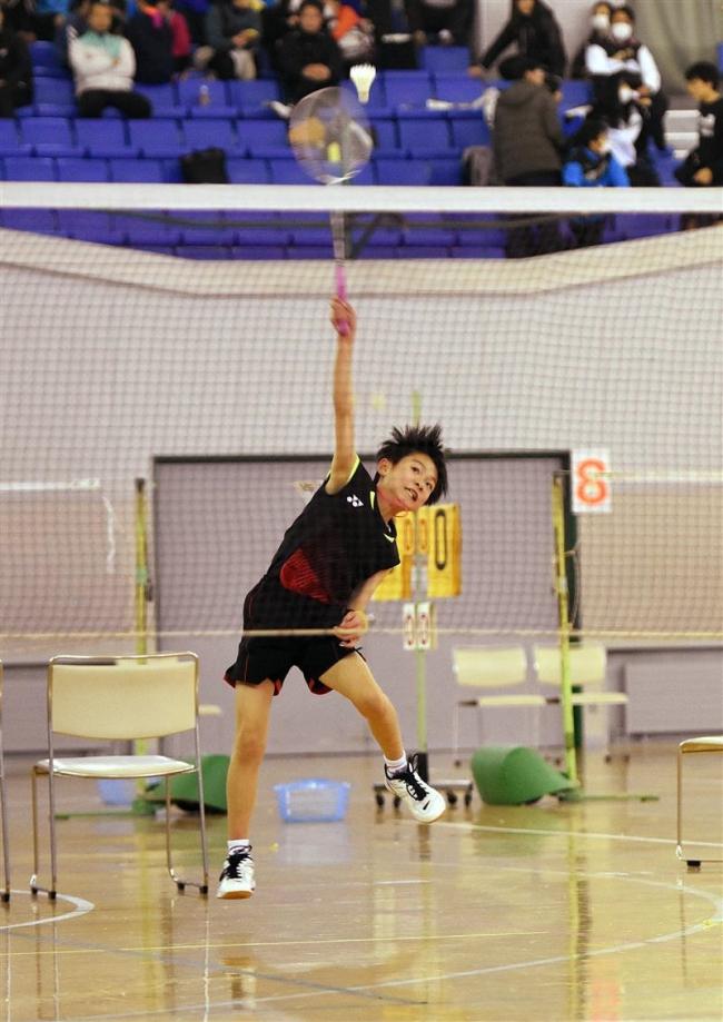 奥田紗世2冠 熊谷彩月初V 全十勝小学生オープンバドミントン大会
