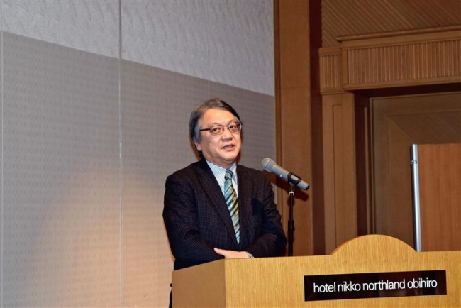 「中国農機はいずれ日本と競合」畜大佐藤教授が講話