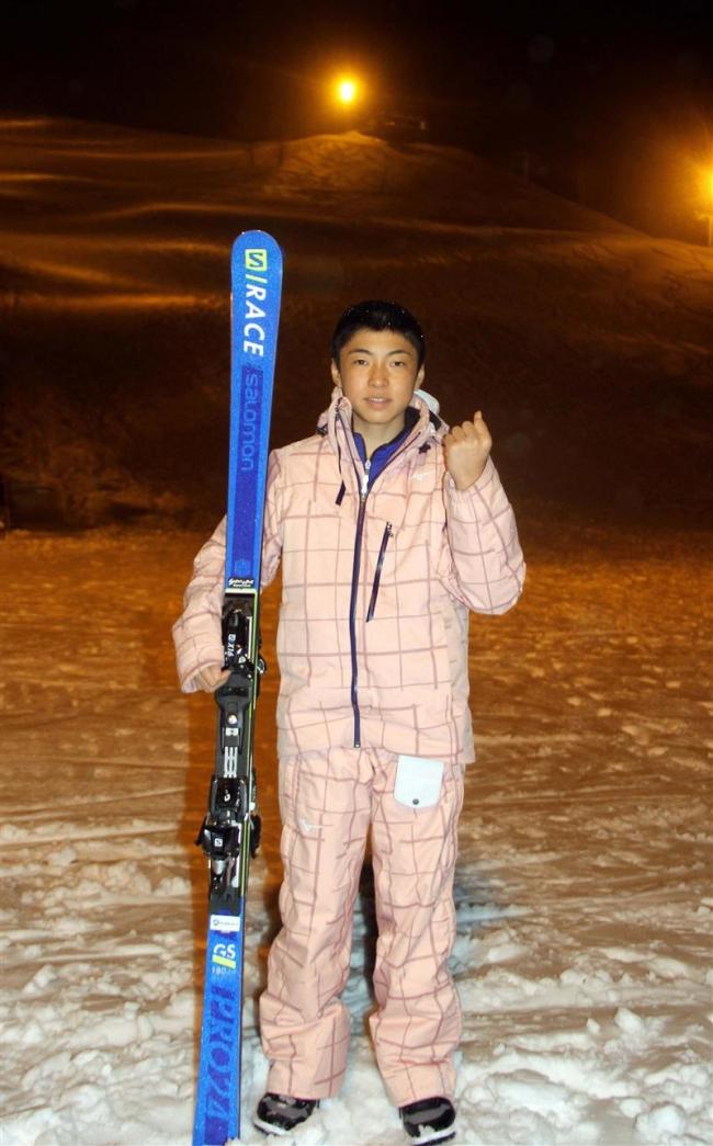 帯緑園の今村心温、広尾の加藤もも子 全国中体連スキー大会に出場