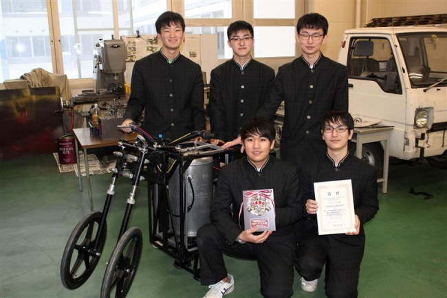 帯広工業高校が「ものづくり大賞」受賞 4年ぶり3回目