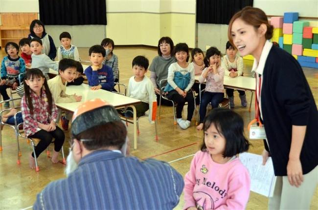 子ども向けに認知症サポーター養成講座 音更