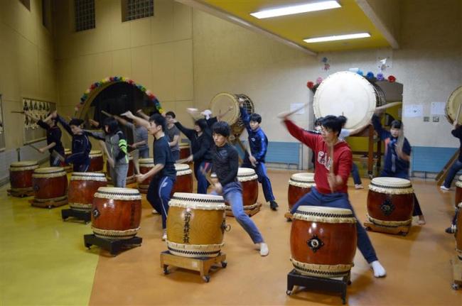 太鼓7団体が本番に向けて合同練習 十勝ふるさとの芸能フェス