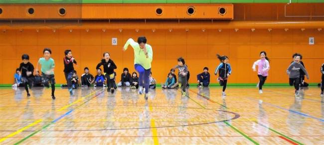 オリンピアンから走り方学ぶ 高平さんが上士幌で教室