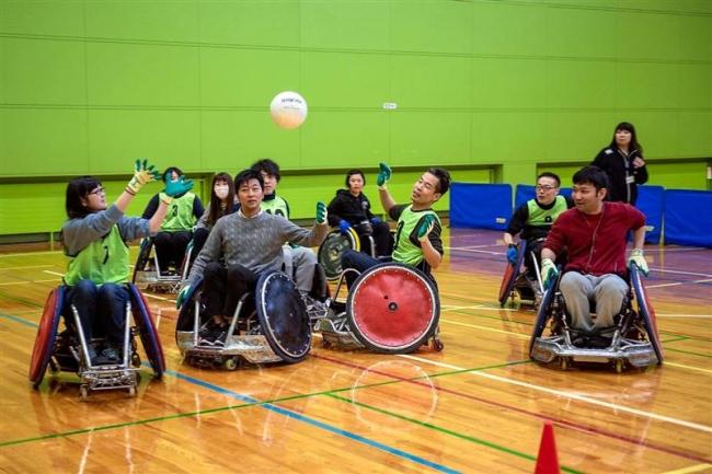 障害者スポーツに挑戦 道東ソーシャルワーク研究会