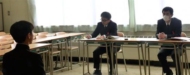 受験生が推薦・連携型試験に挑む 十勝の公立高校