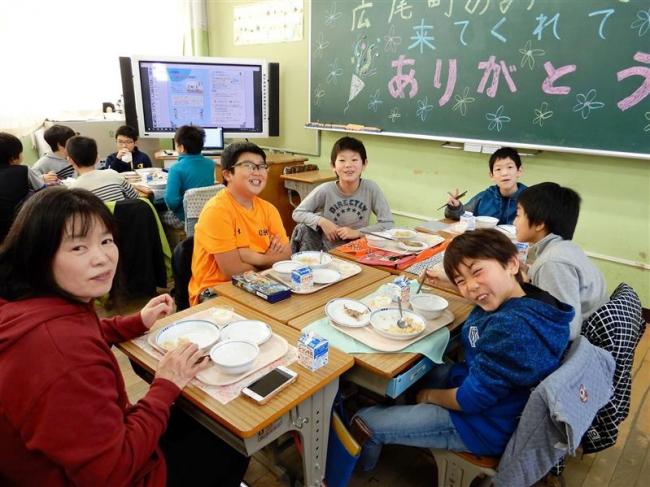 漁業、農業者が東京の児童と交流 広尾
