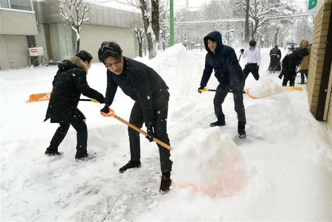 大樹40センチ、帯広29センチ 18日にかけ降雪