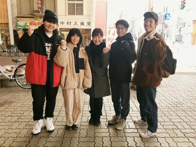 街中で「学生カフェ」を計画 光影マネジャーの矢田部さん