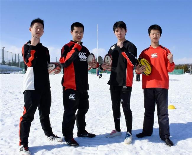 帯広少年RSの加納ら4選手道選抜入り、ラグビー東日本U15中学選抜大会