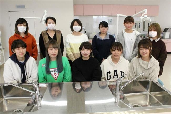 帯広コア 歯科衛生士科第1期生就職率100%達成