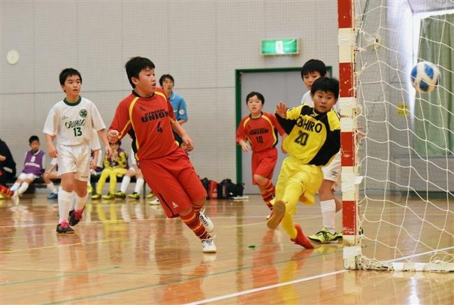 音更Un、御影、幕別札内Bの3チーム頂点 全日本U12フットサル十勝予選