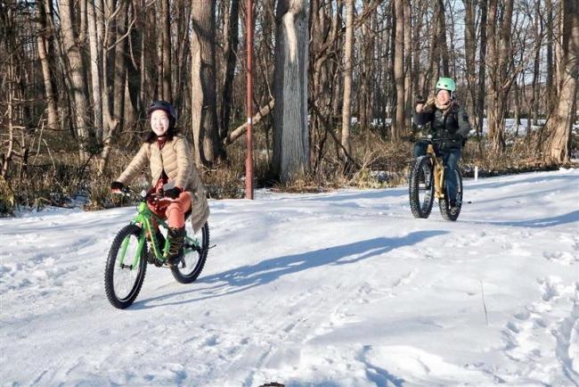 新嵐山ファットバイクコース人気 芽室