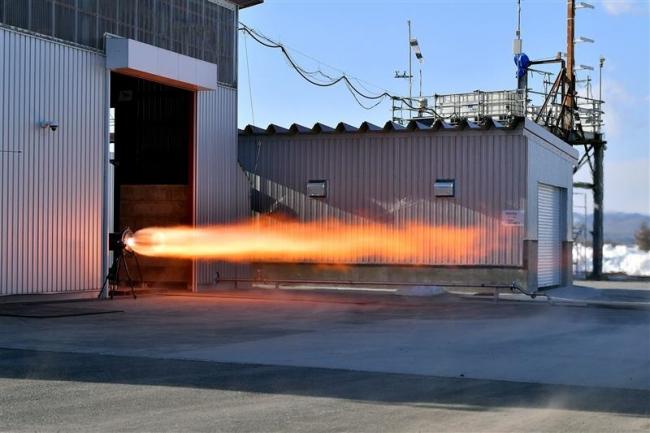 天然ガス ロケット推進 IST「ゼロ」 エンジン燃焼実験 大樹