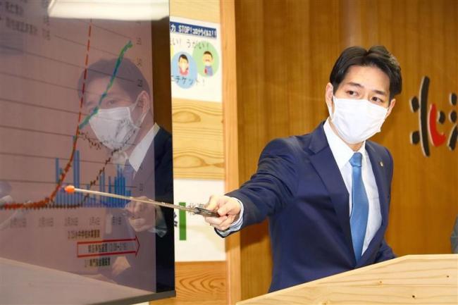 感染防止と経済活動の両立目指す 鈴木知事が緊急事態宣言の終了を宣言