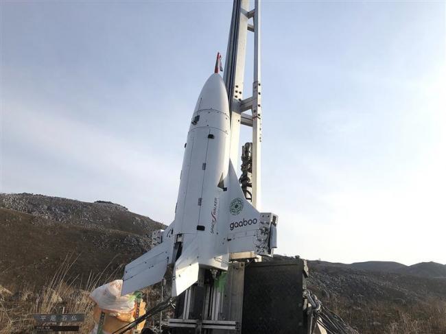 スペースウォーカーが北九州で小型実験機の打ち上げ 大樹での実験へ、また一歩