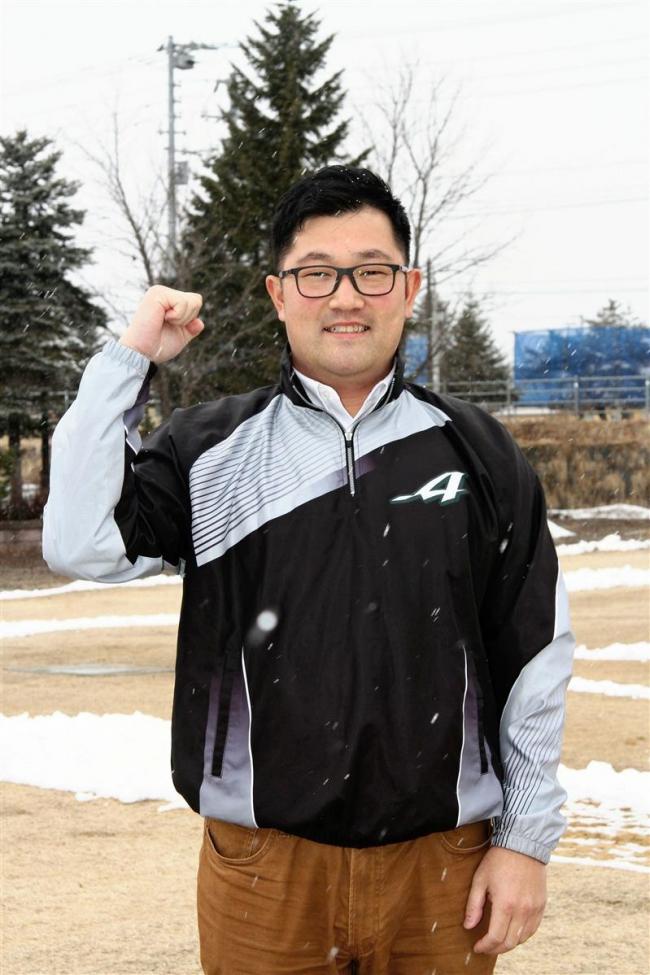 元日ハム選手の池田さん、足寄高校野球部監督に