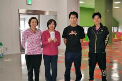団体戦Bランク優勝のチーム岩田