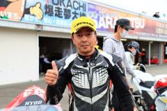 JP250インタークラスで3年連続シリーズチャンピオンに輝いた松浦秀範