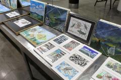 昆虫画家の今沢カゲロウさんが帯広で個展 2