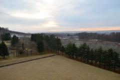 遠景・近景 音更の十勝が丘公園で行われている熱気球体験 3