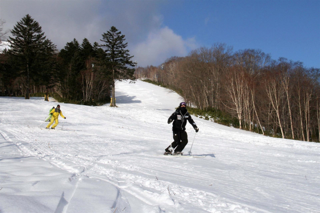 【写真】新得 サホロリゾートスキー場オープン