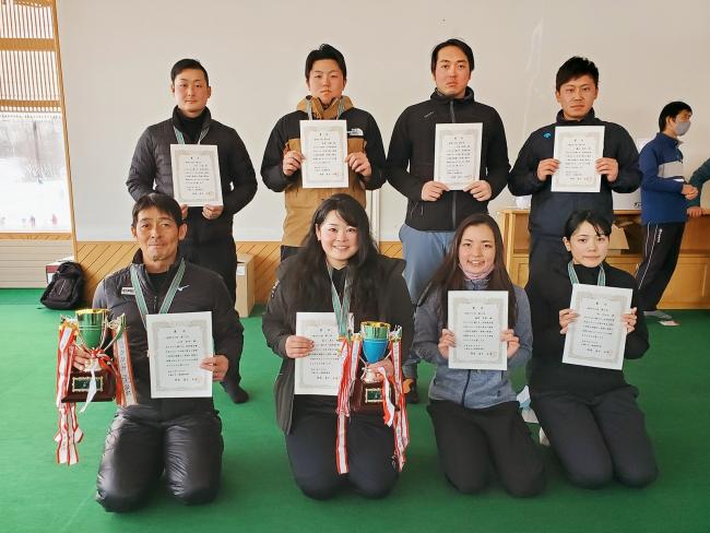 山田一般男子5連覇、女子も畠山V5 十勝スキー技術選手権大会