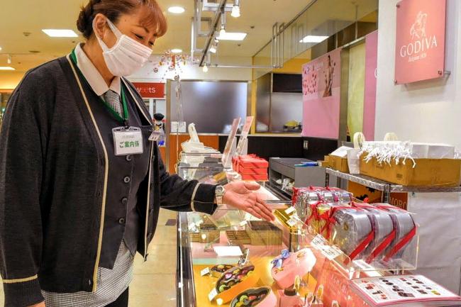 バレンタインデー商戦へ準備本格化 管内大型店、菓子店