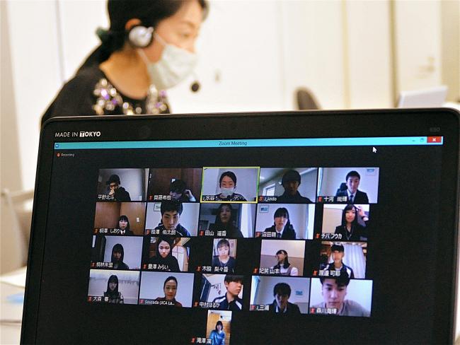 オンラインで高校生が国際貢献を議論 JICA帯広