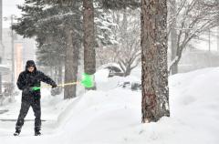 広尾24センチ、帯広8センチ 南部で最大60センチの大雪予想 5