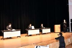 担任教諭が登場し、送る会を盛り上げた「IPPONグランプリ」