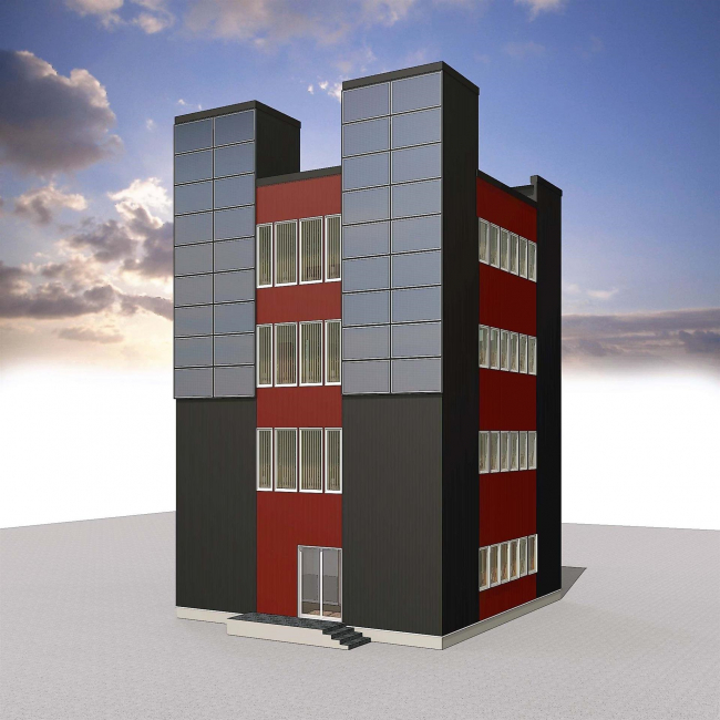 道内初の木造4階建て社屋を建設 FURUTA