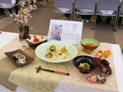 最優秀賞を受けた坂井さんの日本料理「飛翔~大空へ~」