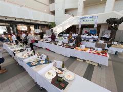 とかちプラザで開かれた帯広調理師専門学校 卒業料理コンクール作品展