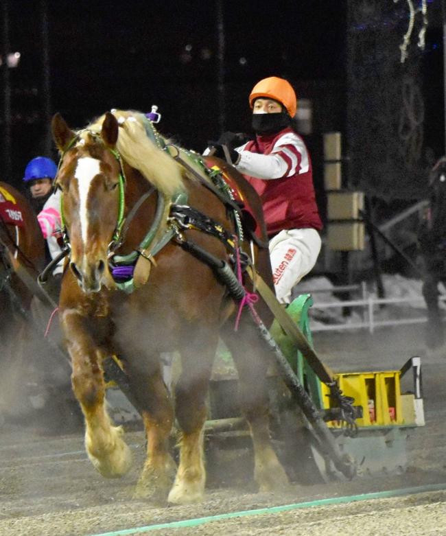フェアリースズ重賞初Vで最強牝馬、ばんえいヒロインズカップ