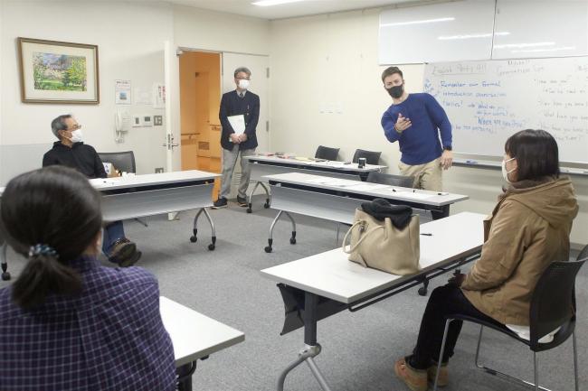 足寄で国際交流員による英会話教室がスタート