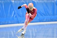女子5000メートル2位の酒井寧子(@アフロ/JSF)