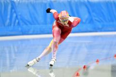 【女子5000メートル】7分16秒48で2位に入った酒井寧子(@アフロ/JSF)