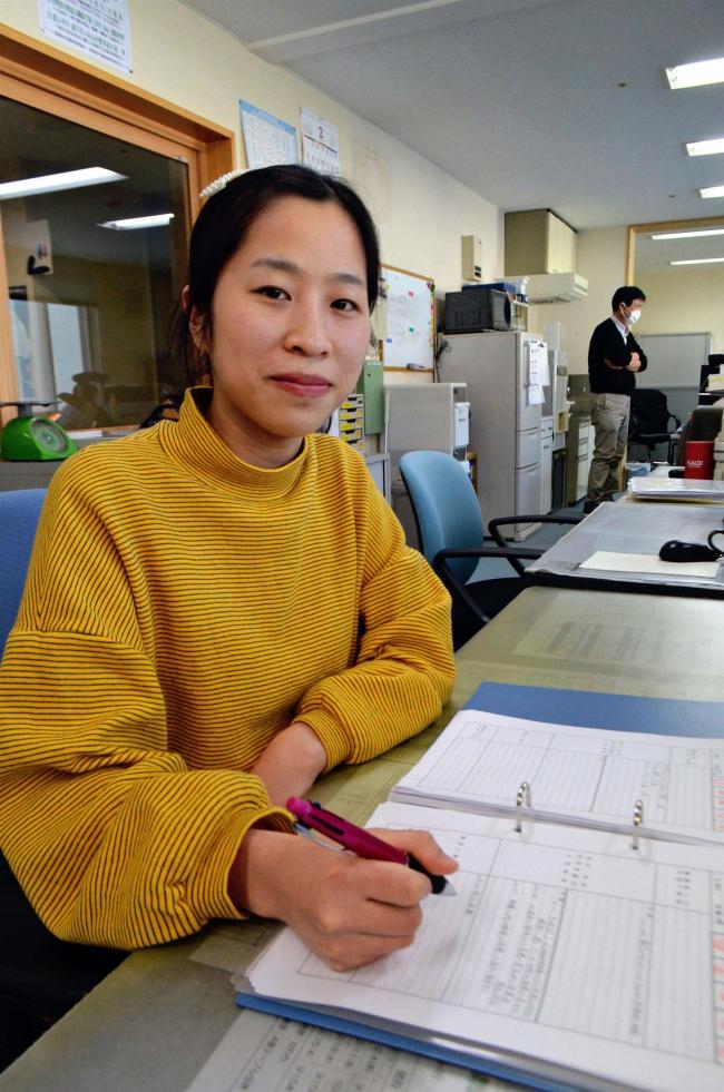 ベトナム人女性が介護実習 豊頃