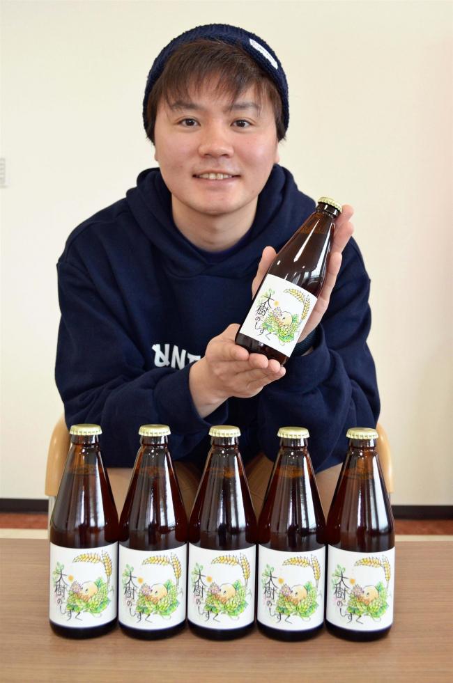 大樹産小麦など原料に地ビール JA大樹町青年部
